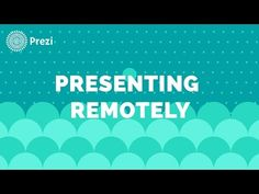 Video tutorial on how to present a prezi remotely | Support | Prezi | Support