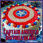 Reece's 6th Birthday: Captain America Cake!