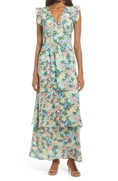 Wondering what to wear to a spring wedding? We've got all the 2021 trends and 50 spring wedding guest dresses to get you started. Summer Wedding Outfits, Spring Wedding, Wedding Dress, Pretty Summer Dresses, Beautiful Dresses, Dress Out, Lace Sheath Dress, Tiered Dress, Nordstrom Dresses