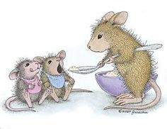 "Amanda, Monica & friend from House-Mouse Designs® featured on the The Daily Squeek® for November 18th, 2013. Click on the image to see it on a bunch of really ""Mice"" products."