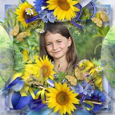 Field of Sunflowers by Designs by Brigit