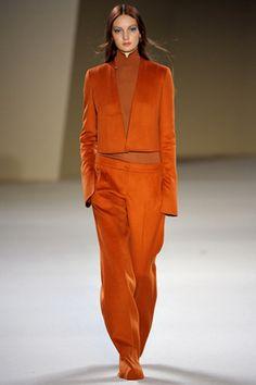 orange-color-three-pice-suit-by-Akris-Fall.jpg 570×855 pixels