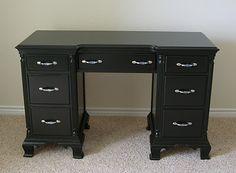 Creative Splatter: Refurbished Desk