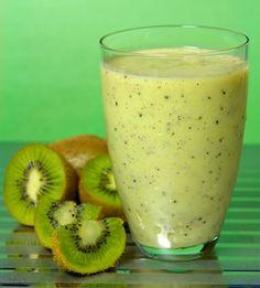 Awapuhi Green Smoothie - definitely packed w/ greens from avocado, kale, , kiwi...