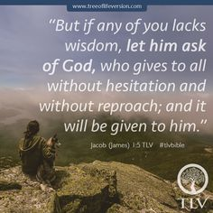 Jacob 1:5 TLV #tlvbible