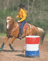 Calm Your Barrel Horse at the Gate
