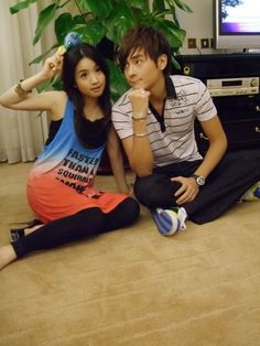 Love this pic of Ariel Lin & Joe Cheng Ariel Lin, Love Pictures, Otp, Dramas, Films, Chinese, Movies, Cinema, Movie