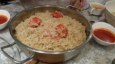 Dal rice. .traditional kuwaiti dish