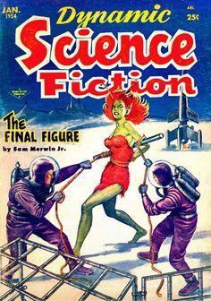 Dynamic Science Fiction - Milton Luros