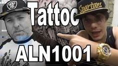 Tattoo ALN1001 (Quase apanhei da Mãe do Allan)