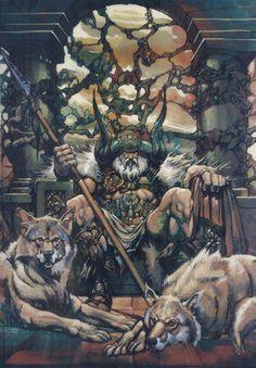 Odin by Frank Frazetta