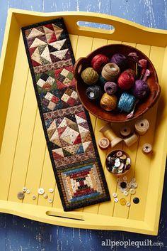Heartspun Quilts ~ Little Bits by designer Pam Buda