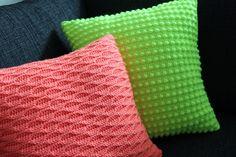 BekkiBjarnoll: Pute i 3D-mønster
