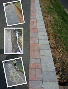 Driveway paver extension - Google Search