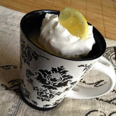 "Lemon Cake in a Mug | ""This tasty concoction can be made in minutes in your microwave and takes almost no prep time!"" #lemoncake #lemoncakerecipes #cakerecipes #bakingrecipes #dessertrecipes"