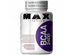 BCAA 2400 - 100 Cápsulas - Max Titanium com as melhores condições você encontra…