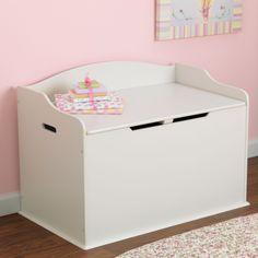 Austin Toy Box in Vanilla #kidkraft #storage #toychest #toybox