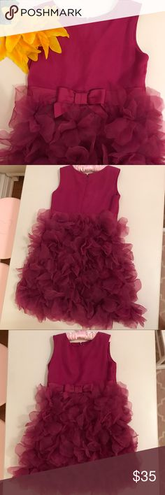 Neiman Marcus for Target Girls Ocassion Dress NWT Beautiful dress! Fucsia Neiman Marcus for Target / Marchesa Dresses Formal