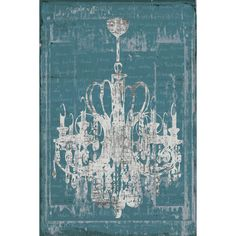 <li>Title: Chandelier 3 in Blue</li><li>Artist: IHD Studio</li><li>Product type: Framed canvas wall art</li>