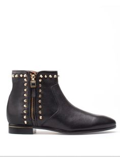 Uterque ankle boots with studs