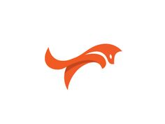 Love this simple Fox logo by George Bokhua
