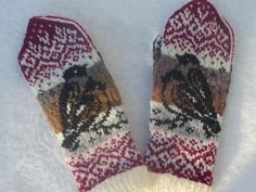 Ravelry: Project Gallery for Bullfinch Mittens pattern by Natalia Moreva