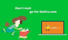#Grocery Shopping on the Go with GoGro.com