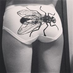 Fly undies? Yeah, why not? No need to fart, he is already there...