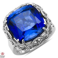 Ebay NissoniJewelry presents - Created Sapphire Fashion Ring in Sterling Silver 925    Model Number:FR8208-SICSA    http://www.ebay.com/itm/Created-Sapphire-Fashion-Ring-in-Sterling-Silver-925/221877919662