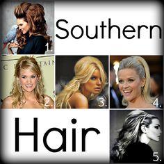 big southern hair