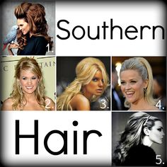 Belle Around: Southern Hair
