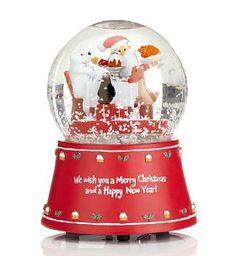Snow globe, always need a snow globe