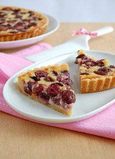 Bill's cherry tart / Torta de cereja do Bill by Patricia Scarpin, via Flickr