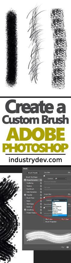 How To Create Custom Brushes in Adobe Photoshop: If you're an illustrator or someone who merely needs to use a brush that isn't found as a preset in Adobe Photoshop, this post was written just for you. Photoshop offers an enormous amount of flexibility when it comes to creating and saving custom brushes as presets and it's actually quite simple to do. Click through to read through my latest post, where I walk, step by step, through the entire process.