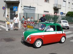 Fiat 500 #Tricolore
