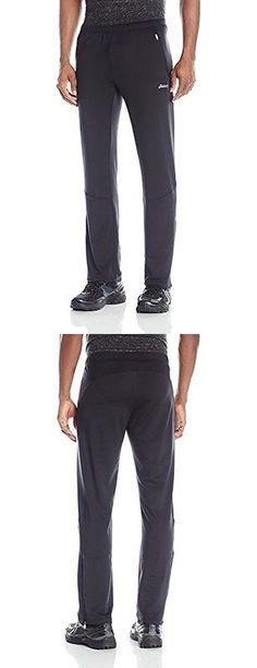 Other Mens Fitness Clothing 40892: Asics Mens Performance Run Essentials Pants, Performance Black, Medium BUY IT NOW ONLY: $47.81