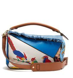 X Paula's Ibiza Puzzle patchwork bag | Loewe | MATCHESFASHION.COM