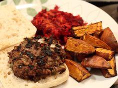 Spicy Sweet Potato Wedges | Paleo Dinner recipes