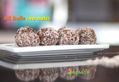 Choc balls 'all balls' nut free, sugar free - Real Recipes from Mums