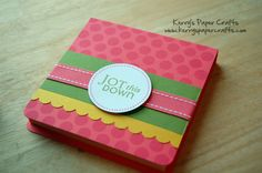 Another great tutorial for making post it note holders on Kerrys Craft Blog#Repin By:Pinterest++ for iPad#