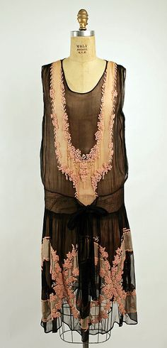 Dress, 1926, French.