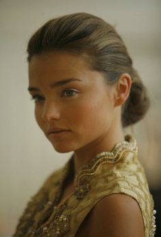 Miranda Kerr natural eye makeup