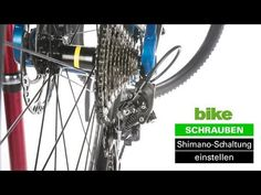 Shimano Schaltung einstellen – Do it Yourself-Anleitung Triathlon, Mountain Biking, Sports, Outdoors, Fitness, Crafts, Diy, Road Racer Bike, Hs Sports