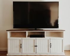 Altered Apothecary Media Console | Do It Yourself Home Projects from Ana White