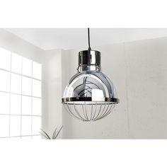 Hanglamp Factory 25cm zilver - 36563