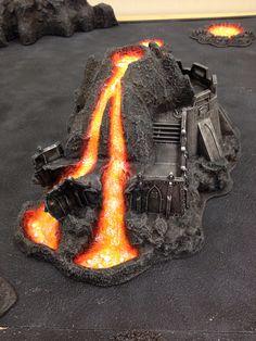Lava melted bastion - Bristol vanguard chaos world board