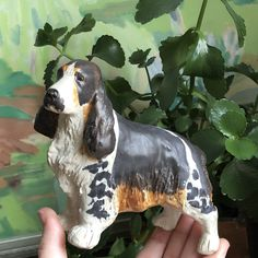Excited to share this item from my shop: Scandinavian Dog figurine by JIE ceramic company / midcentury modern scandinavian terrier Swedish studio pottery hygge wabisabi Spaniel Dog, Springer Spaniel, Mid Century Modern Design, Nordic Style, Midcentury Modern, Hygge, Scandinavian, Vintage Items, Terrier