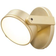 Suitable for wall or ceiling installations, the Monocle LED Wall Sconce by Rich Brilliant Willing is a smooth single lens of LED light with a pivotable head for total control. Victorian Wall Sconces, Vintage Wall Sconces, Rustic Wall Sconces, Modern Wall Lights, Modern Wall Sconces, Led Wall Lights, Modern Lighting, Indoor Wall Sconces, Bathroom Wall Sconces