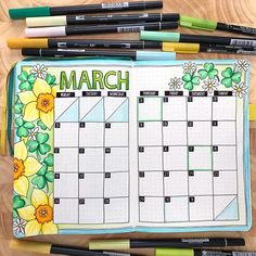planning in my bullet journal Spring March bullet journal spread! Monthly bujo layout created with Tombow markers in a dot grid journal. Monthly bujo layout created with Tombow markers in a dot grid journal. March Bullet Journal, Bullet Journal Monthly Spread, Bullet Journal Notebook, Bullet Journal School, Bullet Journal Inspo, Bullet Journal Layout, Bullet Journal Markers, Bullet Journal Birthday Tracker, Dot Grid Notebook