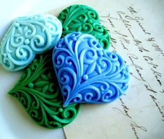 This is soap! #soap #hearts